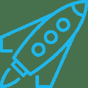 Rocket or startup launching